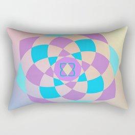 Mandal color wheel Rectangular Pillow