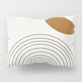 Moon by the city Pillow Sham