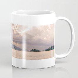 Heavens Burst over Christ the Redeemer Coffee Mug