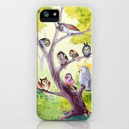 The Owl Story iPhone Case