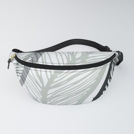 Sway To The Beat / Bold Banana Leaf Fanny Pack