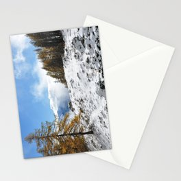 The Confluence Of The Seasons Stationery Cards