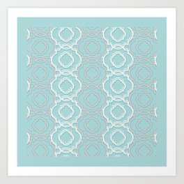 Abstract Lace Art Print