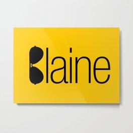 David Blaine Metal Print