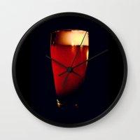 beer Wall Clocks featuring Beer by Derek Fleener