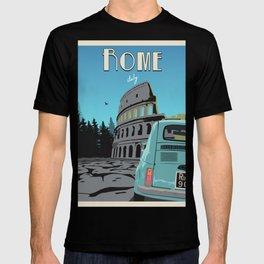 Rome, Italy vintage art T-shirt