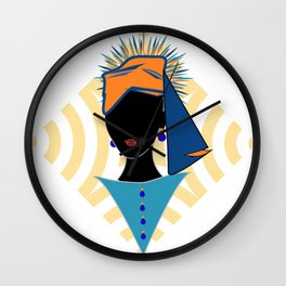 Modjadji, The Rain Queen Wall Clock