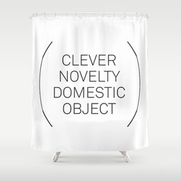 A Clever Novelty Shower Curtain