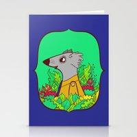 einstein Stationery Cards featuring Einstein by Popnyville