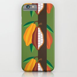 Cacao Plant iPhone Case
