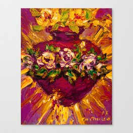 Sacred love II Canvas Print