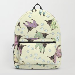 Pajama'd Baby Goats - Yellow Backpack