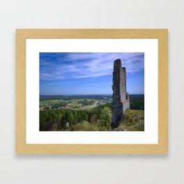 Castle Ruin Hohenburg - Germany Framed Art Print