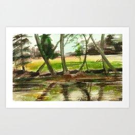 Sternberg Pond Art Print