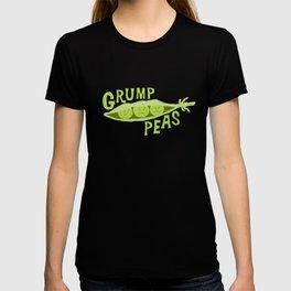 Grumpy Peas Vegetable Pun T-shirt