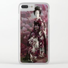 Once Upon A Time in Tokyo XVIII Clear iPhone Case