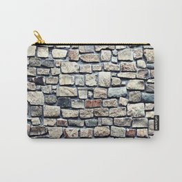 Stone rocks Wall optic Carry-All Pouch