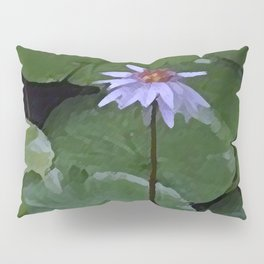 Water Lily Pillow Sham