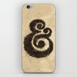 Ink Ampersand iPhone Skin
