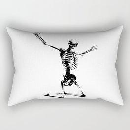 SKELETON GIVE UP Rectangular Pillow
