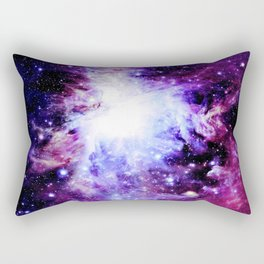 orion Nebula. Purple Magenta Violet Rectangular Pillow
