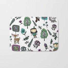 Forest Friends Bath Mat
