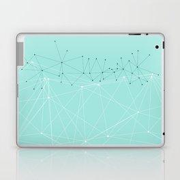 LIGHT LINES ENSEMBLE IX TURQUOISE Laptop & iPad Skin