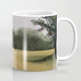 Autumn Field - Original Painting by Tracy Sayers Trombetta - Shades of Monet Coffee Mug