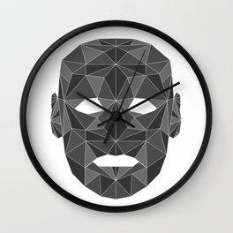 lowpolycyberhuman Wall Clock