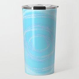 Cotton Candy Swirls Travel Mug