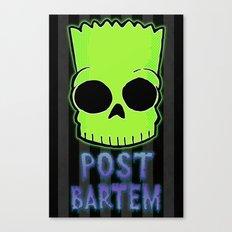Post Bartem Canvas Print