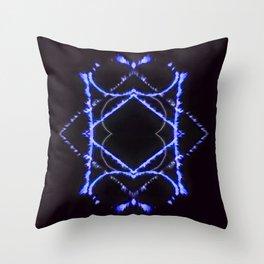Black Diamond Throw Pillow