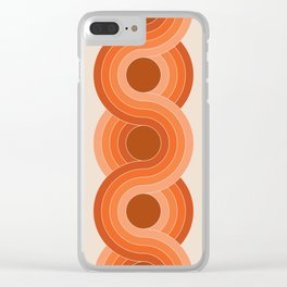Red Rock Chain Clear iPhone Case