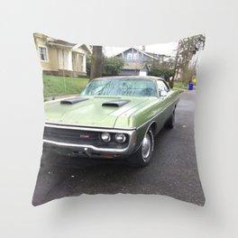 Rare 1971 Brazilian Model Only Polara GT Muscle car Throw Pillow