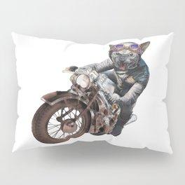 Cat Racer Pillow Sham