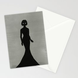 Woman in Black or Her Imperial Majesty The Empress Stationery Cards