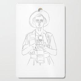 Vivian Maier Cutting Board