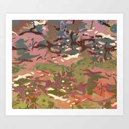 My Most Popular Camo, 2 Dual version! Art Print