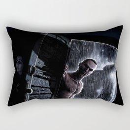 Don't Breathe Rectangular Pillow