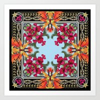 givenchy Art Prints featuring Givenchy Print by I Love Decor