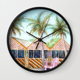 McT Sanibel Island Wall Clock