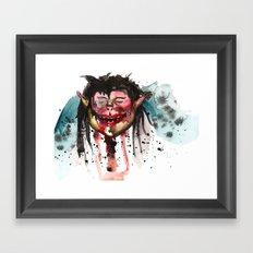 Gobby Goblin Framed Art Print
