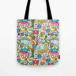 Peace&Love Tote Bag