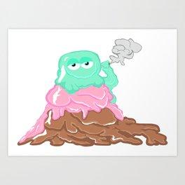 Scoopz: Rolling Fat Pints Art Print