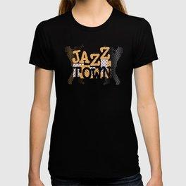 Jazz Town Modern Style Design T-shirt