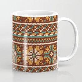 Pattern in Grandma Style #21 Coffee Mug
