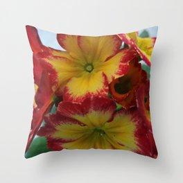 English Primrose 3 Throw Pillow