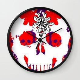 Skull Life Wall Clock
