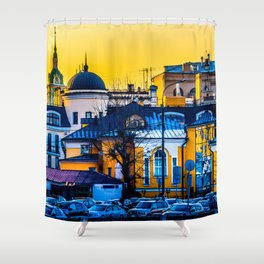 Urban Mix Shower Curtain