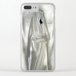 """say no to patriarchy / """"the nun"""" Clear iPhone Case"""